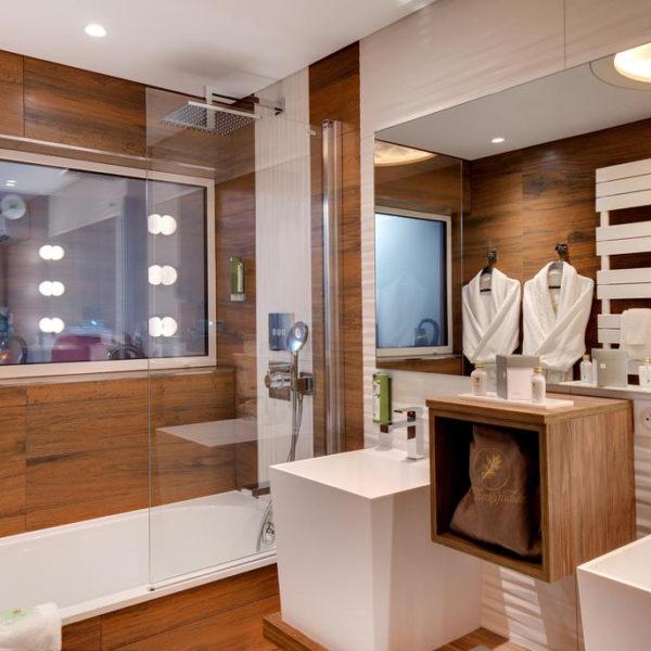 baignoire chambre la cheneaudiere