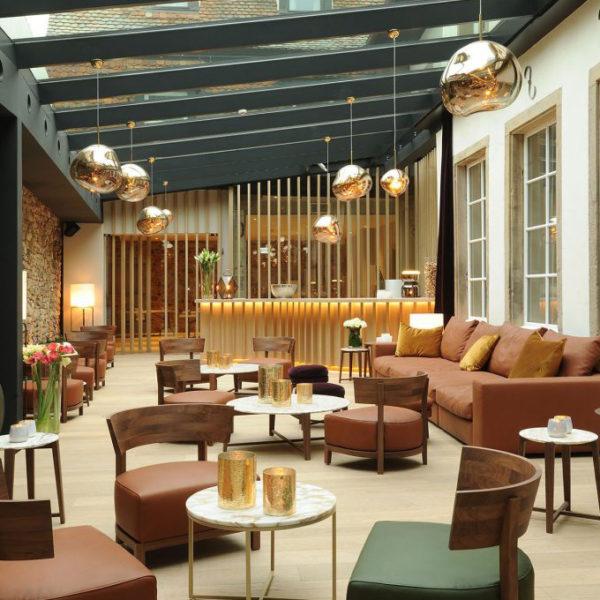 lobby 5 terres hotel spa