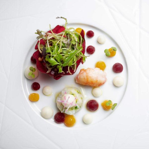 plat restaurant 2 étoiles alsace