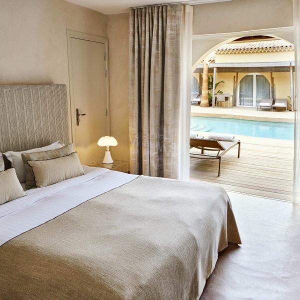 chambre Villa Cosy Saint Tropez
