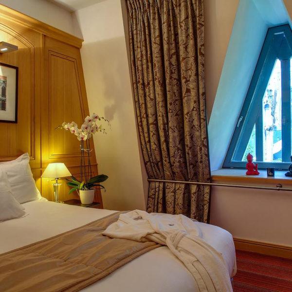 chambre double Hotel de Bourgtheroulde Rouen