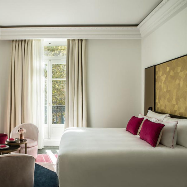 chambre double hotel fauchon