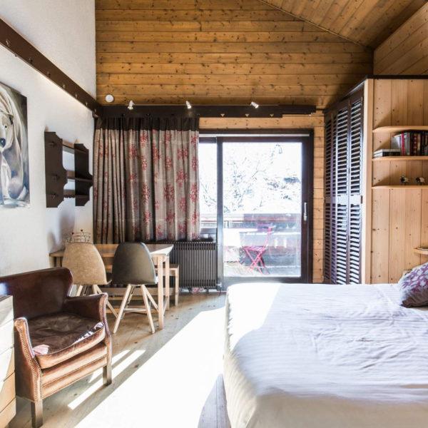 chambre hiver hotel spa la bergerie