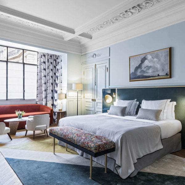 chambre hotel le grand powers paris