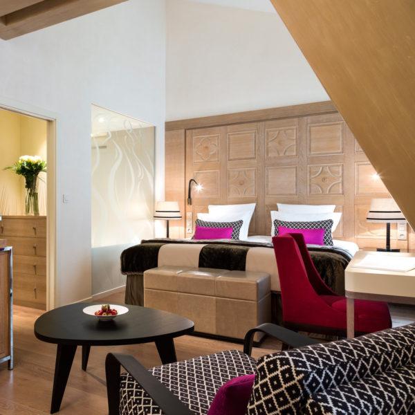 chambre hotel mont blanc chamonix