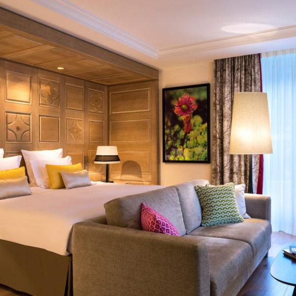 chambre hotel spa mont blanc chamonix