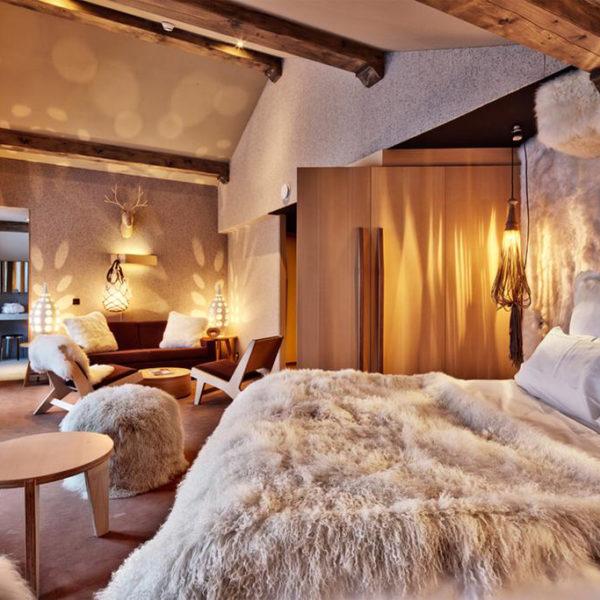 chambre luxe HÔTEL SPA ALTAPURA rhone alpes