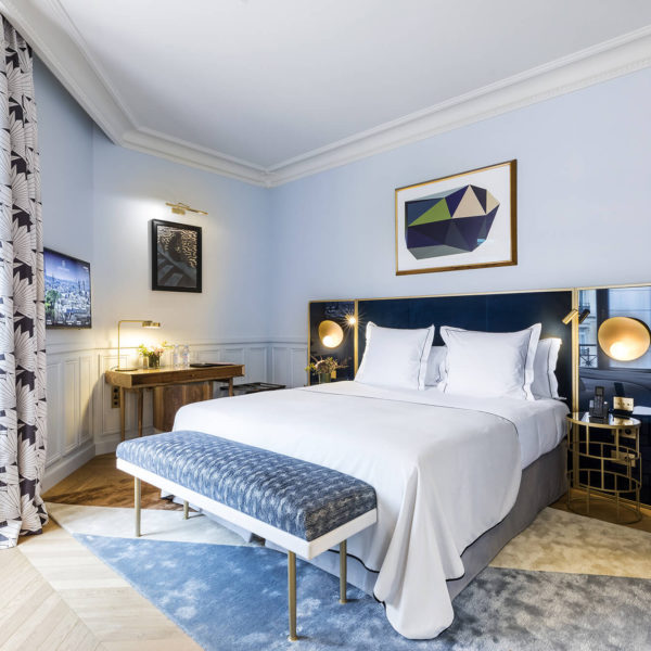 chambre luxe hotel le grand powers paris