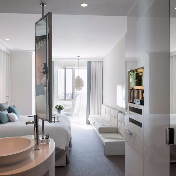 chambre luxe hotel les cures marine Normandie