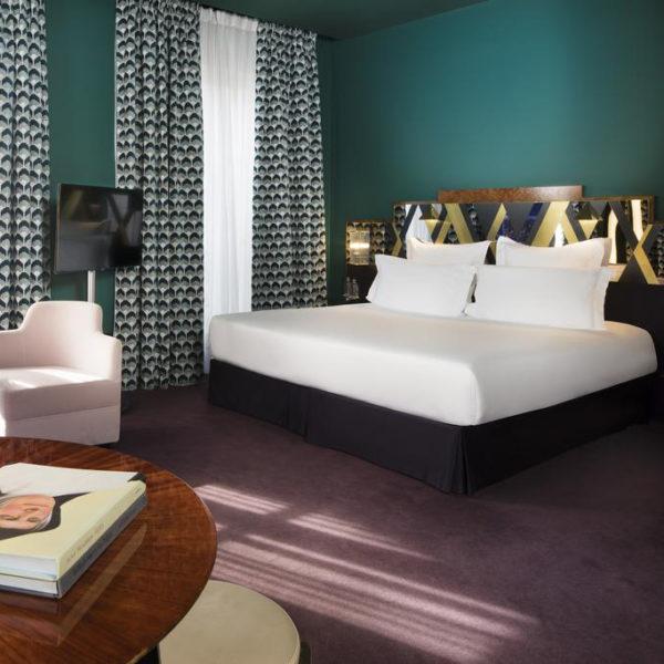 chambre luxe hotel saint marc Paris