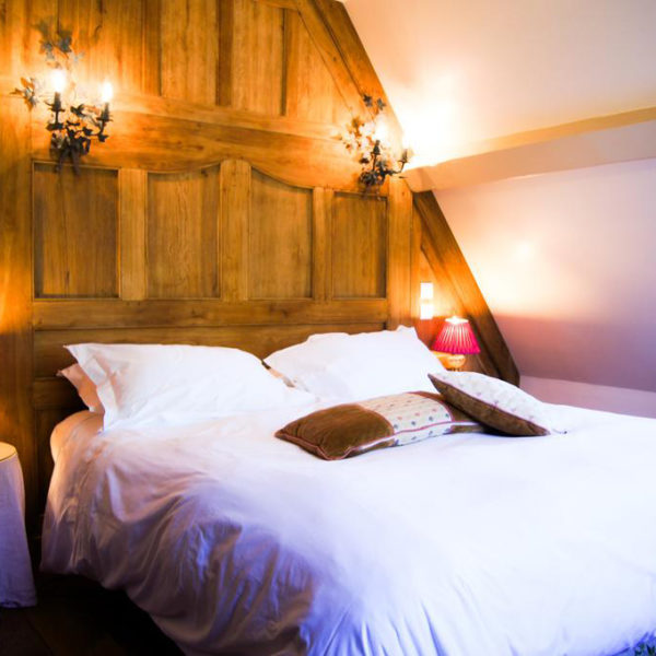 chambre luxe manoir des impressionnistes Normandie
