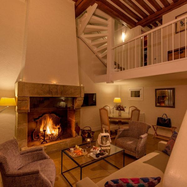 chambre triple hotel Les Manoirs de Tourgeville Normandie