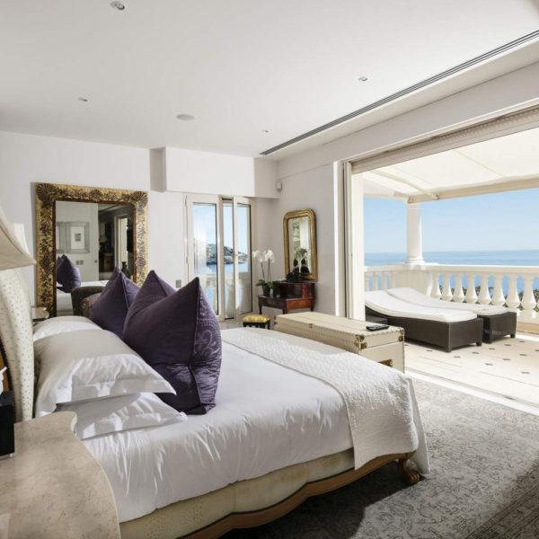 chambre vue mer cap estel hotel paca