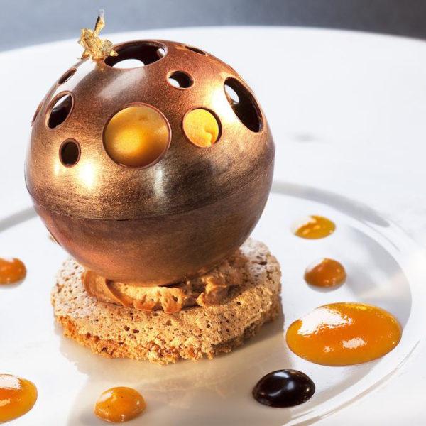 dessert restaurant ferme saint siméon normandie