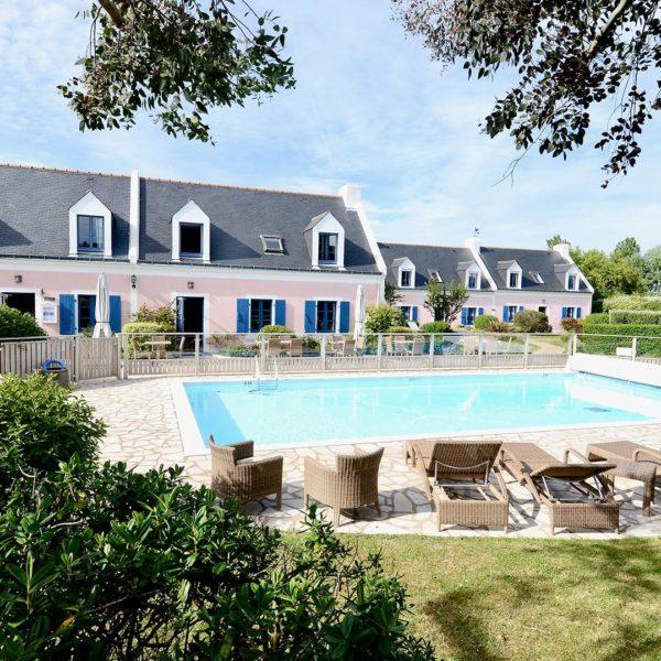 piscine Hotel La Desirade belle ile en mer