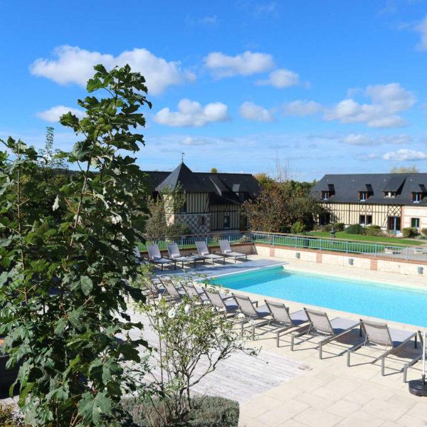 piscine Hotel Spa Le clos des fontaine normandie
