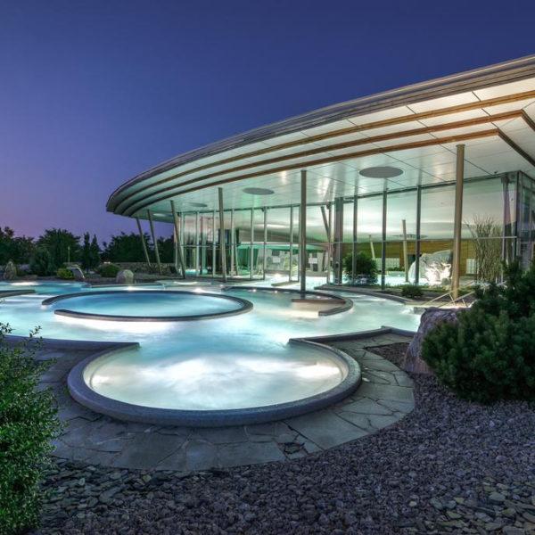 piscine exterieur hotel barriere ribeauvillé