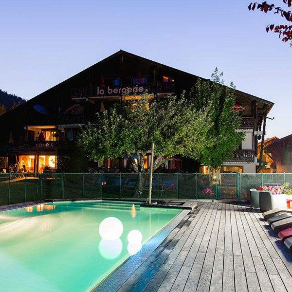 piscine hotel spa la bergerie