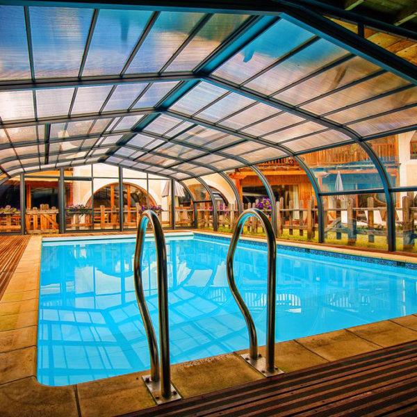 piscine hotel spa la ferme d'Izoard Paca