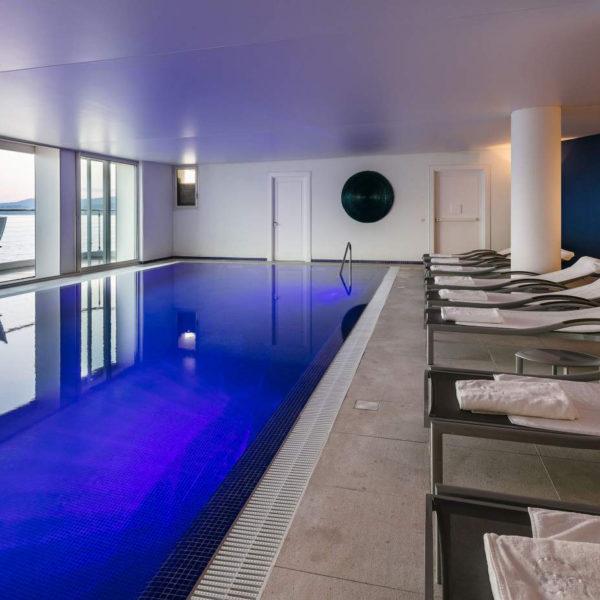piscine intérieure cap estel hotel paca