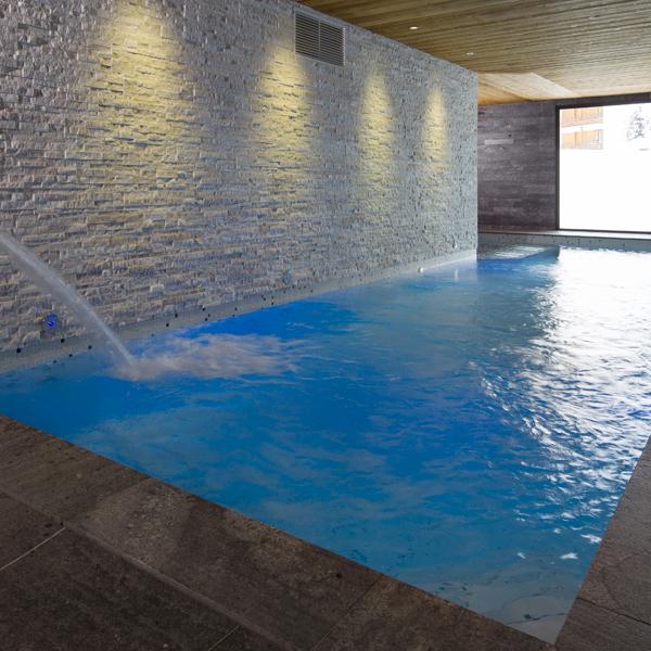 piscine intérieure hotel spa crychar
