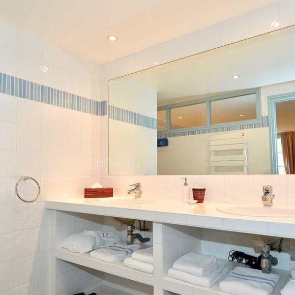 salle de bain Hotel La Desirade bretagne