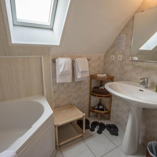 salle de bain Hotel La Desirade