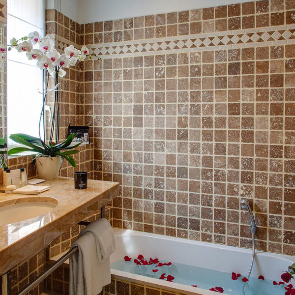salle de bain Hotel de Bourgtheroulde Rouen