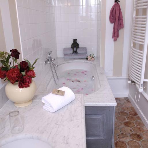 salle de bain chateau hotel Clement