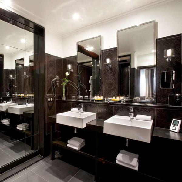 salle de bain grand hotel cabourg normandie