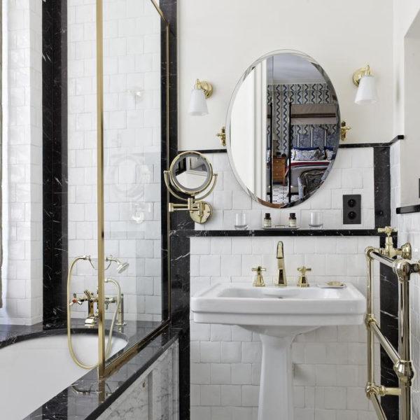 salle de bain hotel relais christine