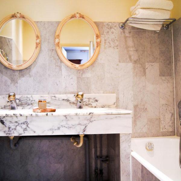 salle de bain manoir des impressionnistes Normandie