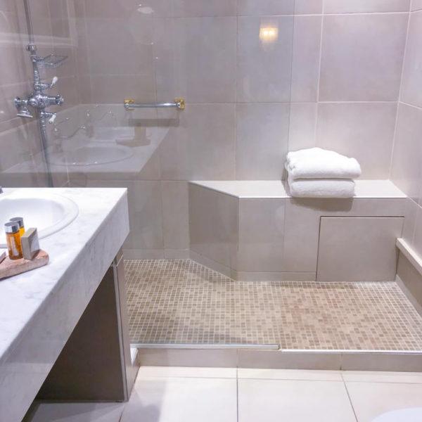 salle de bain manoir des impressionnistes