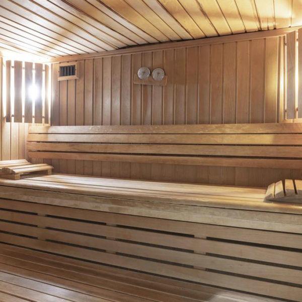 sauna manoir de la poterie en normandie
