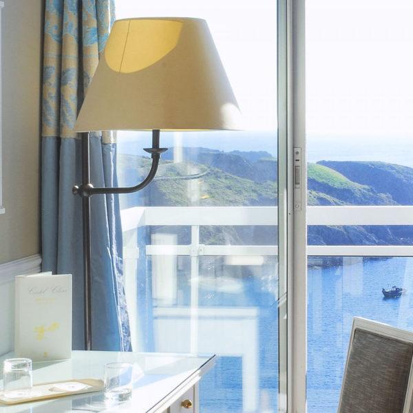 chambre vue mer castel clara belle ile en mer