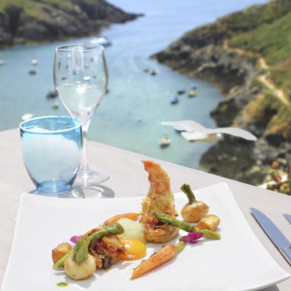 dejeuner castel clara belle ile en mer