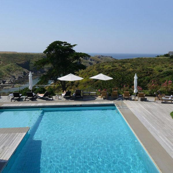 piscine extérieur castel clara belle ile en mer